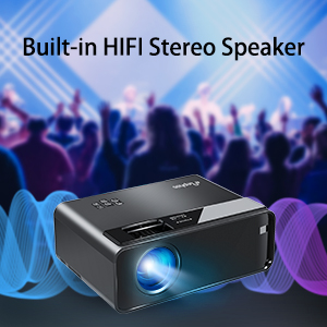 Built-in HIFI Stereo Speaker