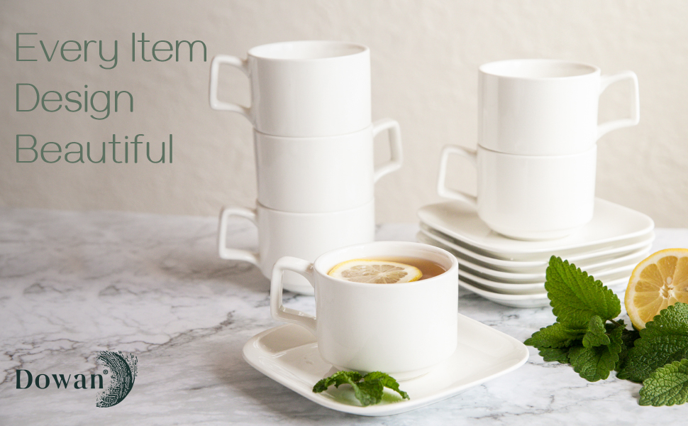 Stackable Espresso Cups