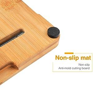 cutting board with no-slip