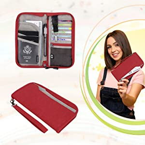 passport wallet for women