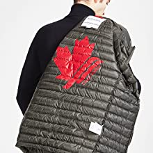 puffer coat for men winter jacket warm