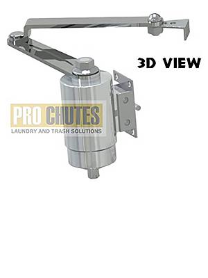 Hydraulic Roto Closer for Laundry Chute Door