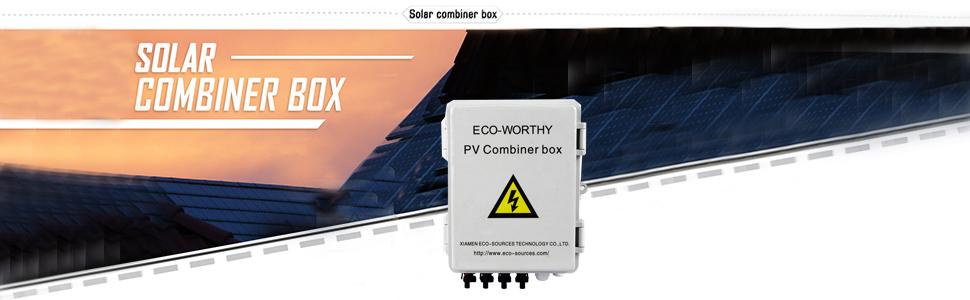 ECO-WORTHY Combiner Box