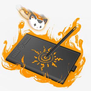 GAOMON  GAOMON 10 x 6,25 Pulgadas Tableta Gráfica Drawing Tablet 8192 Presión de Nivel con Pasiva Pluma-M10K 2018 Versión (M10K2018) 21ada618 618d 47ad 9c59 23988aee40d9