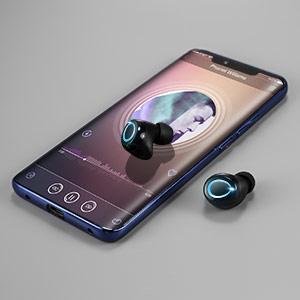 wireless earbuds bluetooth headphones in-ear