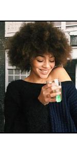 Queentas Afro Wig