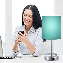green nightstand lamp dimmable lamp bedside table lamp dimmable table lamp bedside with usb port l