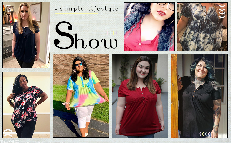 plus size shirts for women