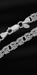 Bracciale bizantino in argento