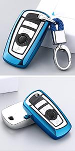 key fob jacket skin holder for bmw keychains for men women