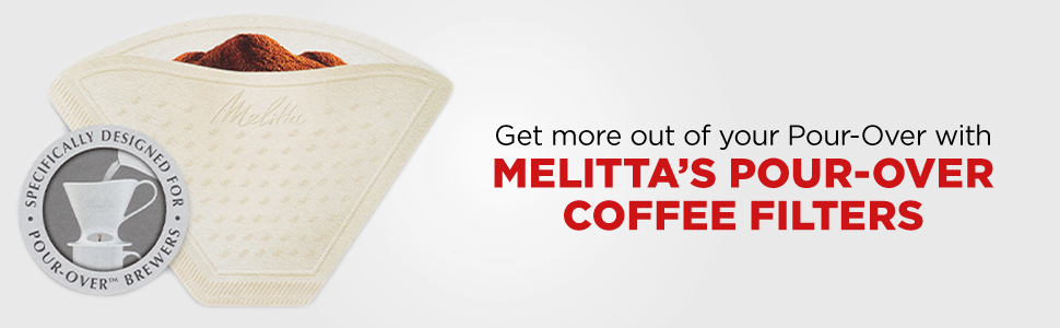 pour-over coffee filter