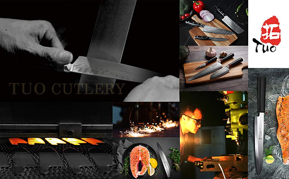 tuo cutlery knife chef knife paring knife kitchen knives knife set knife block