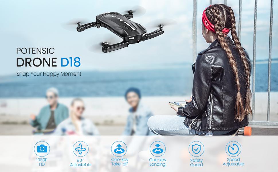 potensic drone D18