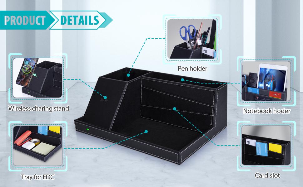 details of  Desktop Organizer