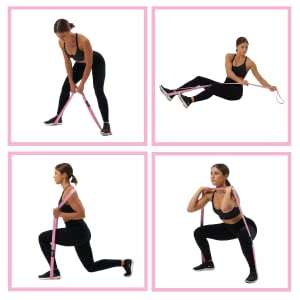 Arena Strength Long Bands Body Bands Fabric Long Resistance Bands