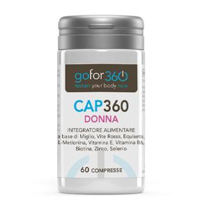 CAP360 DONNA integratore capelli e unghie
