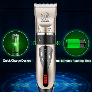 fast charging dog clippers