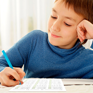 Use these sheets to introduce your child to division with single-digit equations.