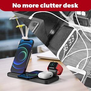 No more clutter desk
