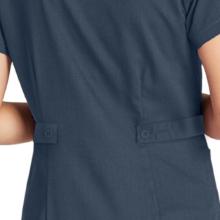 Tab back detail shown on Barco Grey's Anatomy 4153 women's scrub top