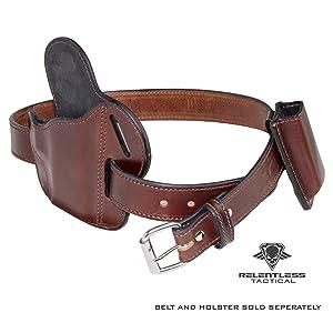 Gun Belt Holster Combo