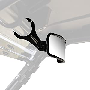 """17"""" Curved Rear View Mirror - 2"""" Clamps"""
