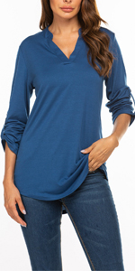 3/4 sleeve tunic Shirt