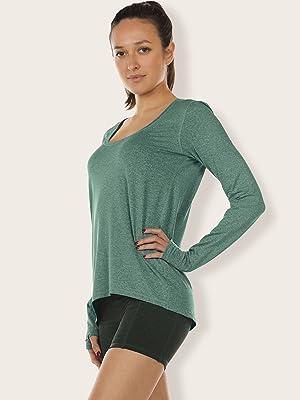icyzone Long Sleeve Workout Shirts