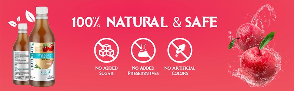 100% Natural & Safe