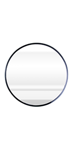 23.6 inch circle wall mirror