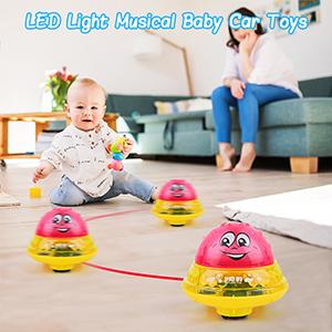 LED Light Musical Baby Car