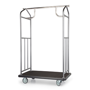 Hammertone Value Valet Bellman's Cart
