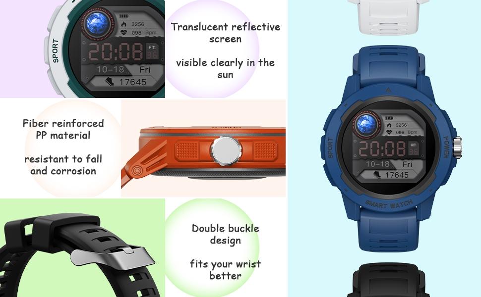 Details picture of bingofit smart watch