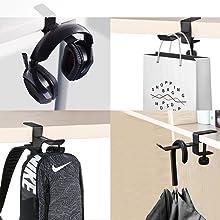 headphones hanger desk