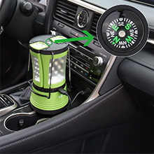 car charger and compass