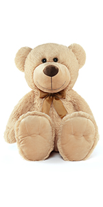 26inch tan teddy bear