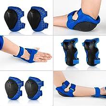 Skateboard protective gear set