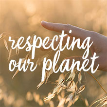 respecting our planet