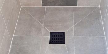 shower center drain