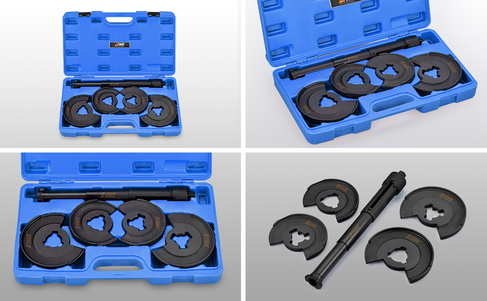 """Quality Coil Spring Compressor 12/"""" Heavy Duty 2 Piece Kit FREE UK SHIPPING"""