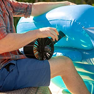 inflatable pool lounger