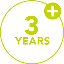 3 years plus recommended ages