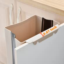 cabinet trash can