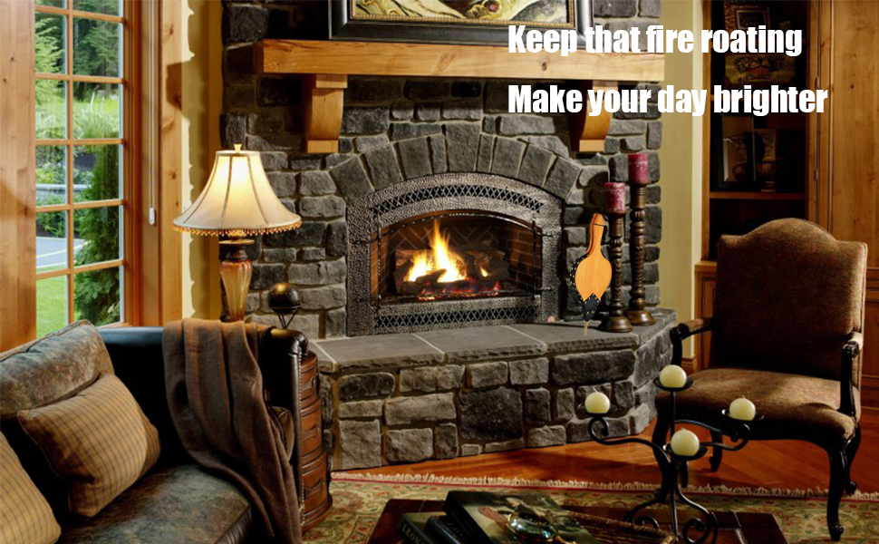 Wood Fire Blower Fireplace Tools Accessories