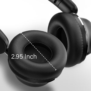 Bluetooth wireless on ear headphones