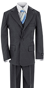 Charcoal, gray, formal, suit
