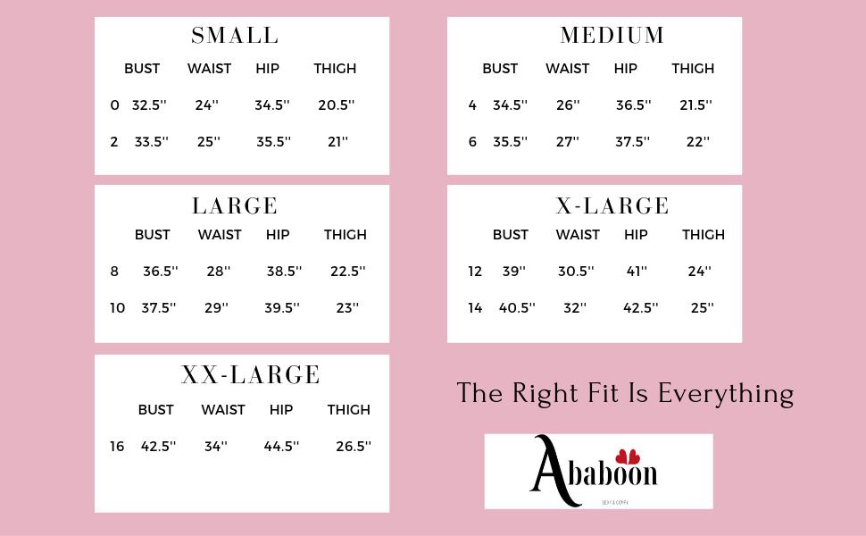 US Size Chart