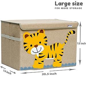 toy box measurement