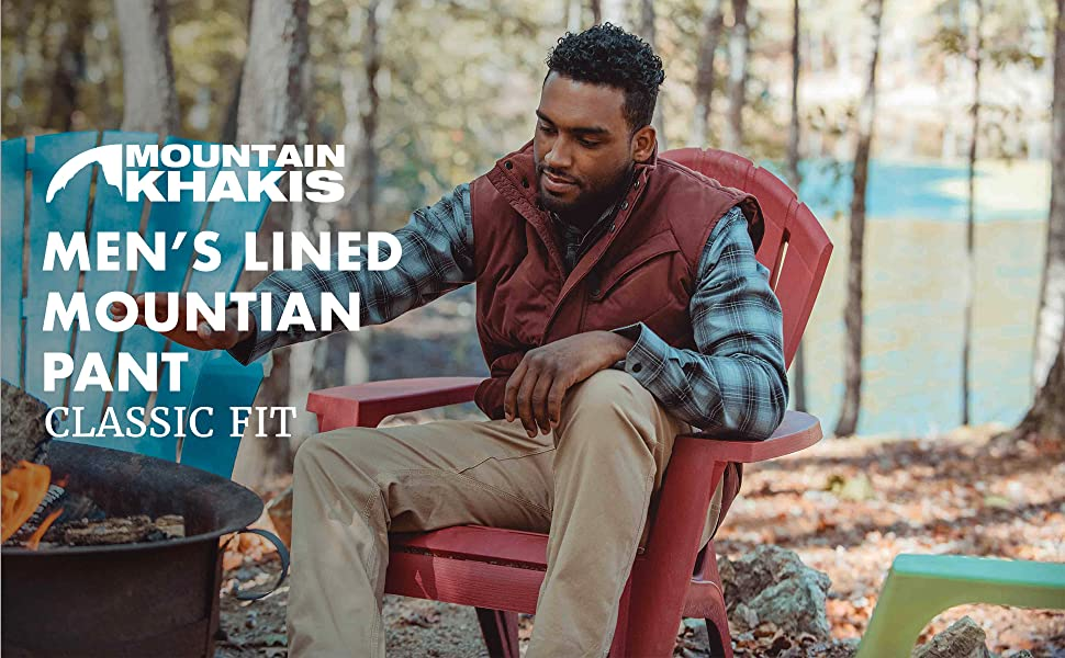 Mountain Khakis Mens Mountain Pant Lined
