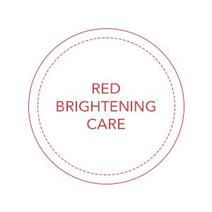 red, brightening, care
